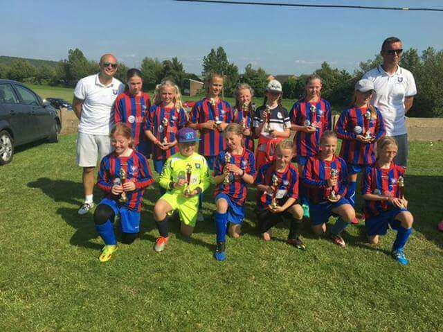 Wickersley Youth U12 Girls Do It Again – Brinsworth Champions
