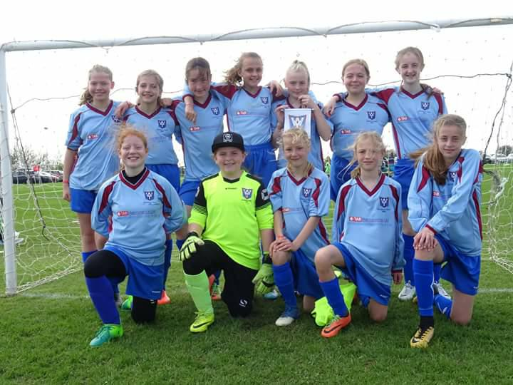 Wickersley Youth Under 12 Girls win another tournament