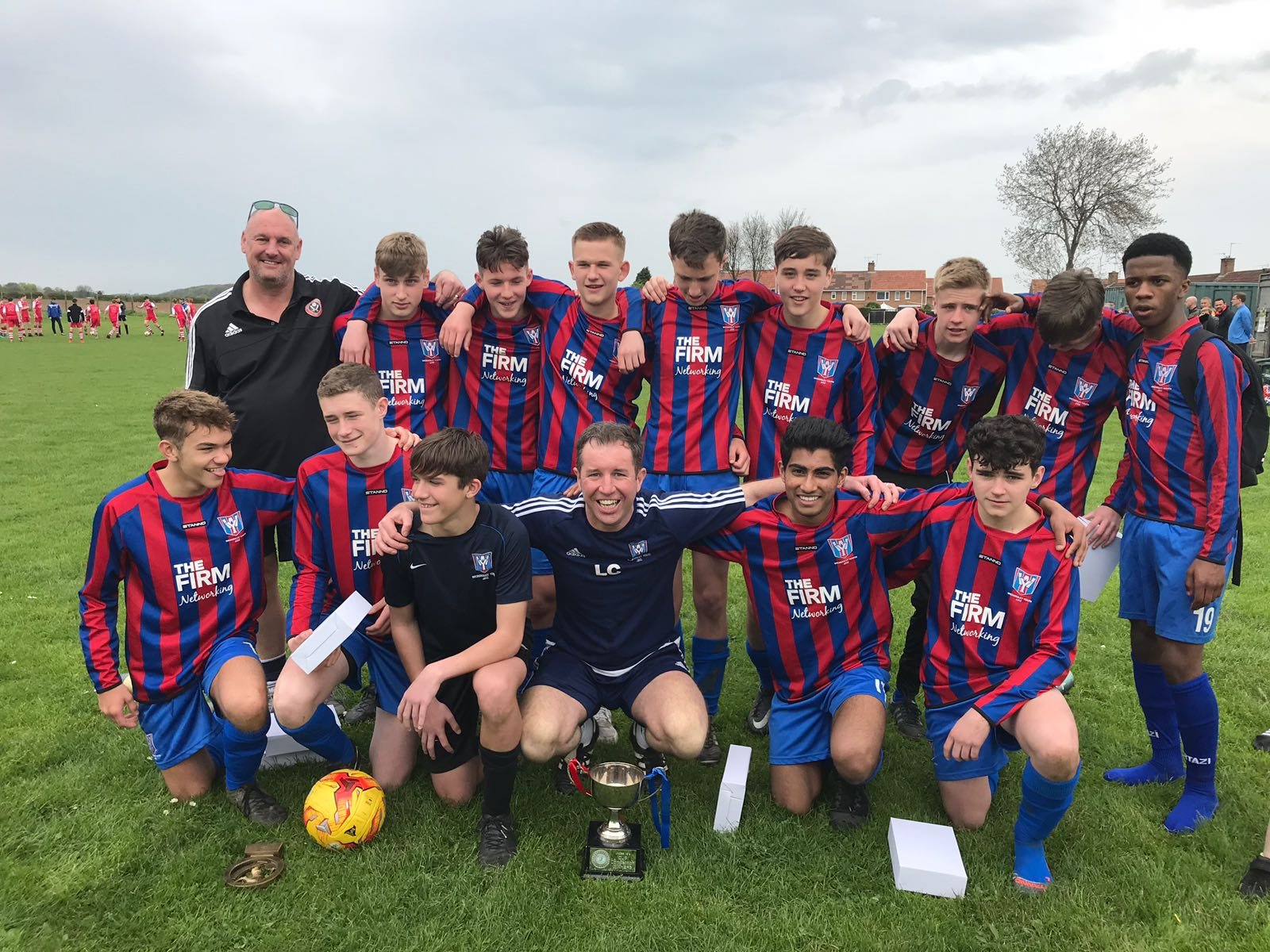 Wickersley Youth Under 15's win the cup