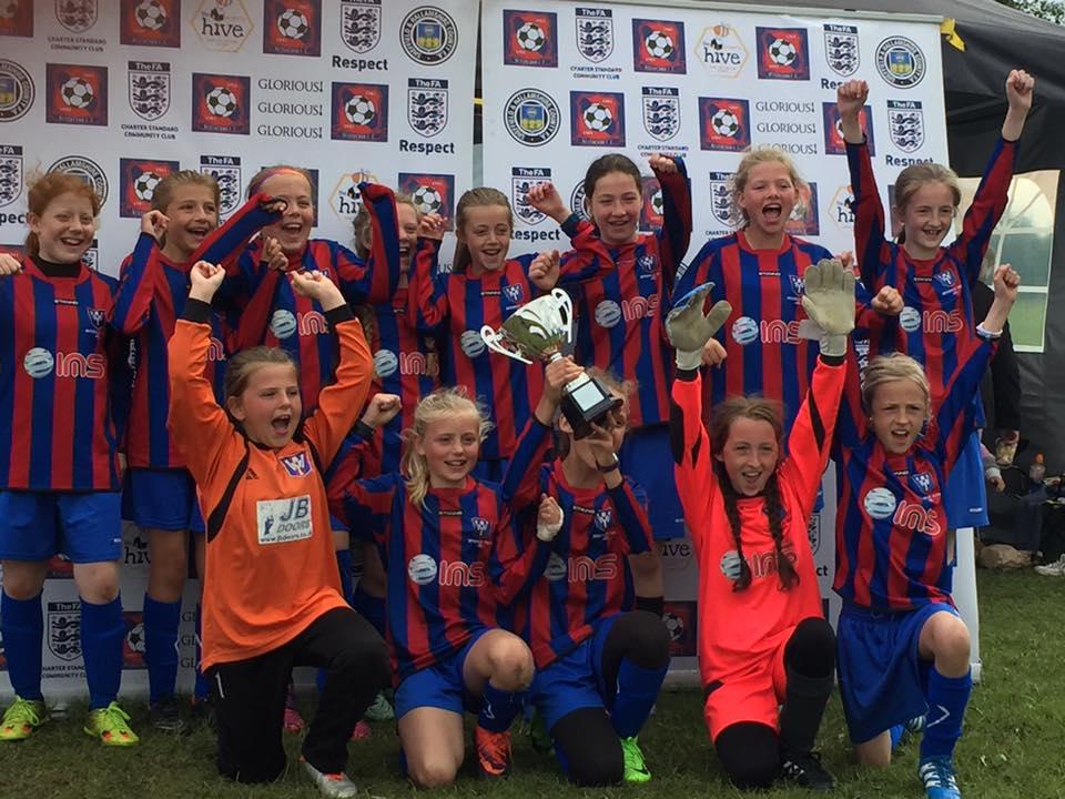 Wickersley Youth U12 Girls Bessacarr Tournament Winners 2017